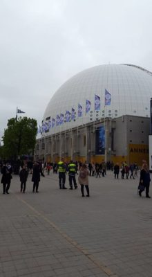 Globen i all sin glans