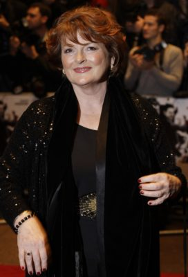 British actress Brenda Blethyn arrives on the red carpet for the World Premiere of the film 'Dead Man Running', in London, Thursday Oct. 22, 2009. (AP Photo/Joel Ryan)